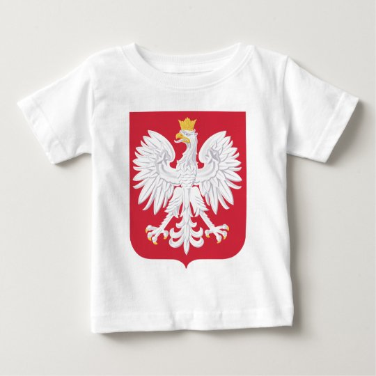 Polish Poland Official Coat Of Arms Heraldry Symbo Baby T-Shirt