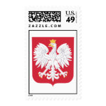 Polish Poland Official Coat Of Arms Heraldry Symbo Postage Stamp