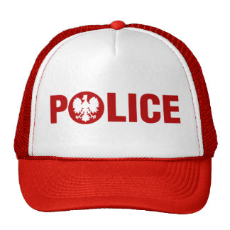 Polish Police Trucker Hat