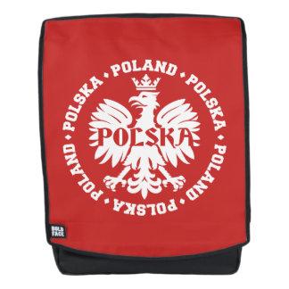 Polish Polska Eagle Emblem Backpack