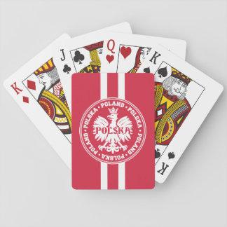 Polish Polska Eagle Emblem Card Decks