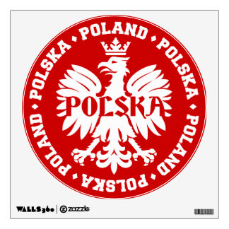 Polish Polska Eagle Emblem Wall Skin
