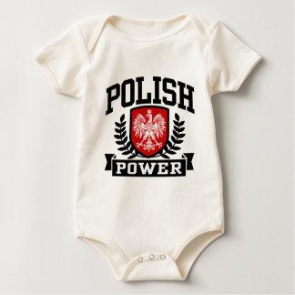 Polish Power Baby Bodysuit