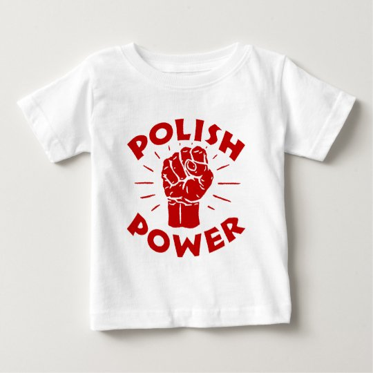 Polish Power Baby T-Shirt