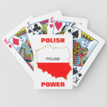 POLISH POWER BICYCLE PLAYING CARDS