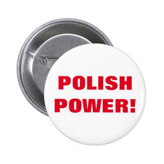 POLISH POWER! BUTTON