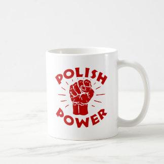 Polish Power Classic White Coffee Mug