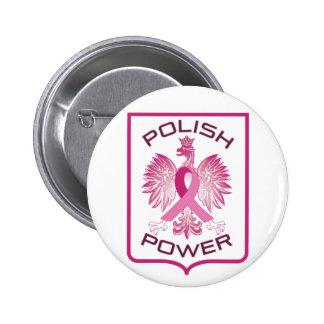 Polish Power Pinback Button