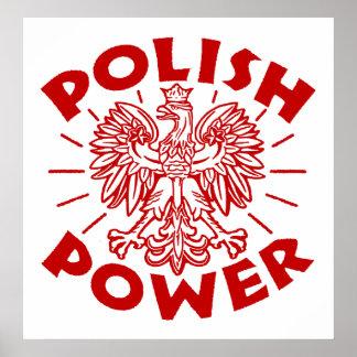 Polish Power Poster