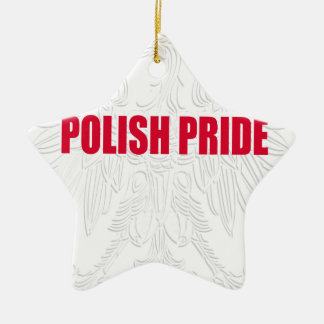 Polish Pride Ceramic Ornament