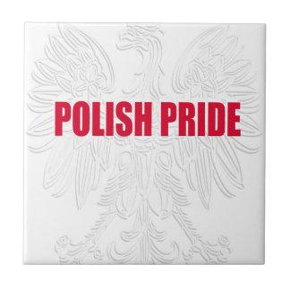Polish Pride Ceramic Tile