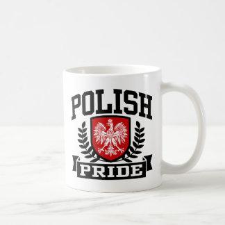 Polish Pride Classic White Coffee Mug