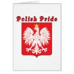 Polish Pride Eagle Card