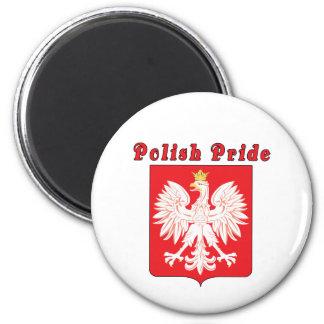 Polish Pride Eagle Magnet