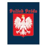 Polish Pride Eagle Postcard
