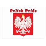 Polish Pride Eagle Postcards