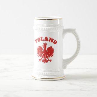 Polish Pride Eagle Symbol 18 Oz Beer Stein