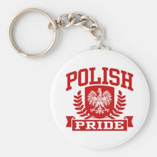 Polish Pride Keychain