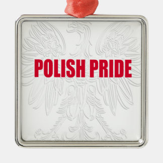 Polish Pride Metal Ornament
