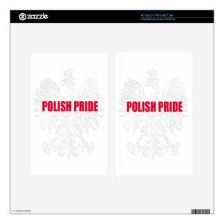 Polish Pride Skin For Kindle Fire
