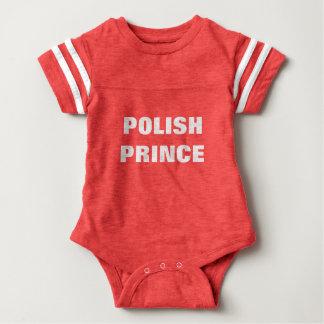 POLISH PRINCE BABY BODYSUIT