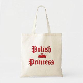 Polish Princess Budget Tote Bag