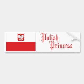 Polish Princess, Bumper Sticker