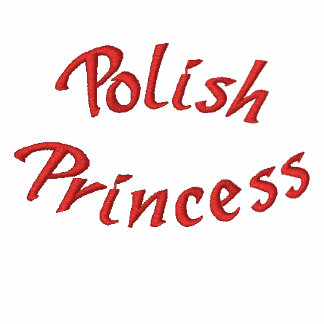 Polish Princess Cute Embroidered Hoodie