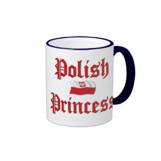Polish Princess Ringer Mug