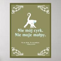 Polish Proverb Poster