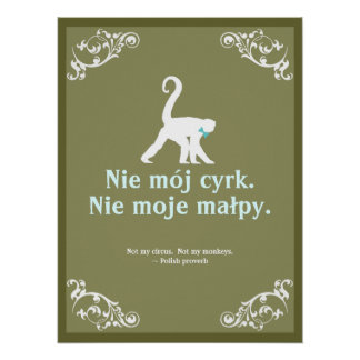Polish Proverb Posters