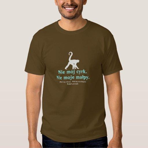 Polish Proverb Tee Shirt