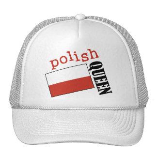Polish Queen Trucker Hat