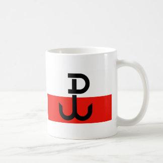 Polish Resistance Flag Coffee Mug