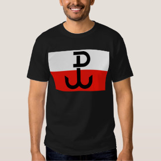 Polish Resistance Flag Tshirts