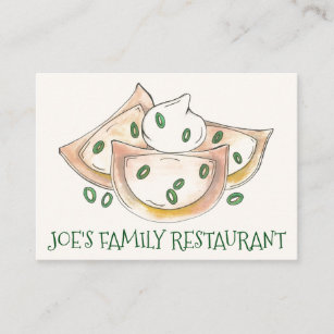 Home Cooked Food Business Cards Zazzle