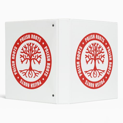 Polish Roots 3 Ring Binders