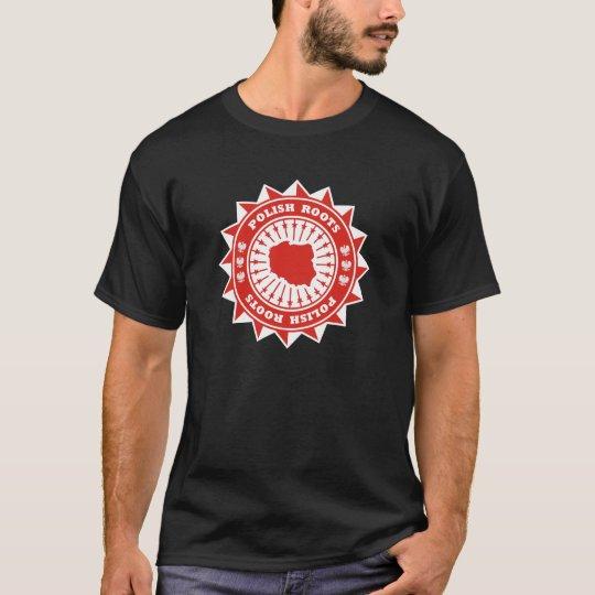 Polish Roots Map T-Shirt