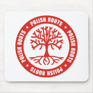 Polish Roots Mouse Pad
