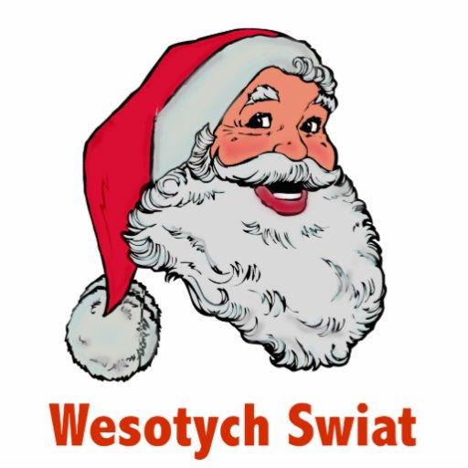 Polish Santa Acrylic Cut Out