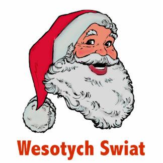 Polish Santa Cutout