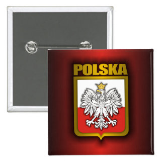 Polish Steel 3 Pinback Button