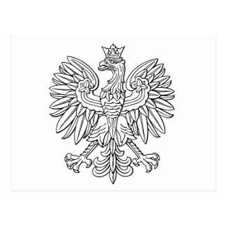 Polish symbol postcard