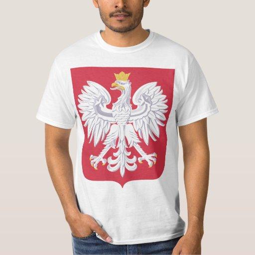 Polish symbol t shirt zazzle for Polish t shirts online
