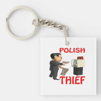Polish Thief Keychain