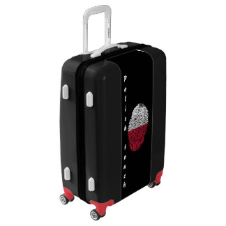 Polish touch fingerprint flag luggage