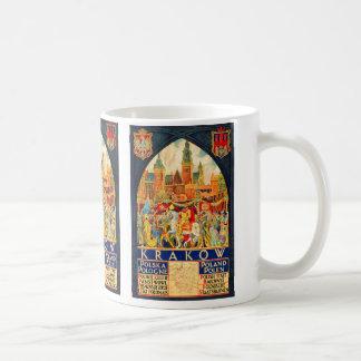 Polish Vintage Travel Poster Coffee Mug