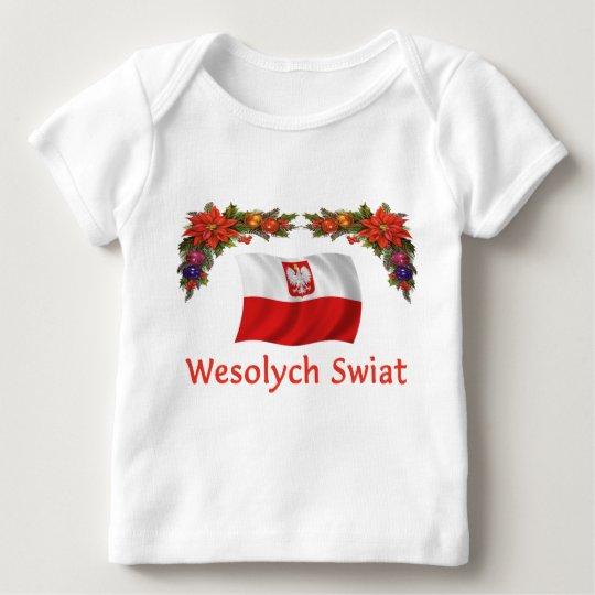 Polish Wesolych Swiat Baby T-Shirt