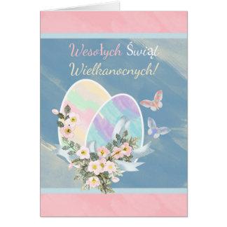 Polish - Wesotych Swiat Wielkanocnych, Easter Card