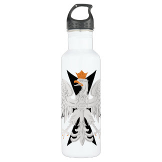 Polish White Eagle Maltese Cross  Liberty Bottle